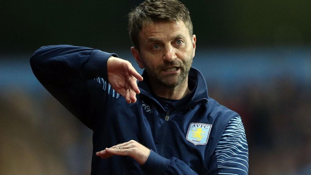 Aston Villa-manager Tim Sherwood.