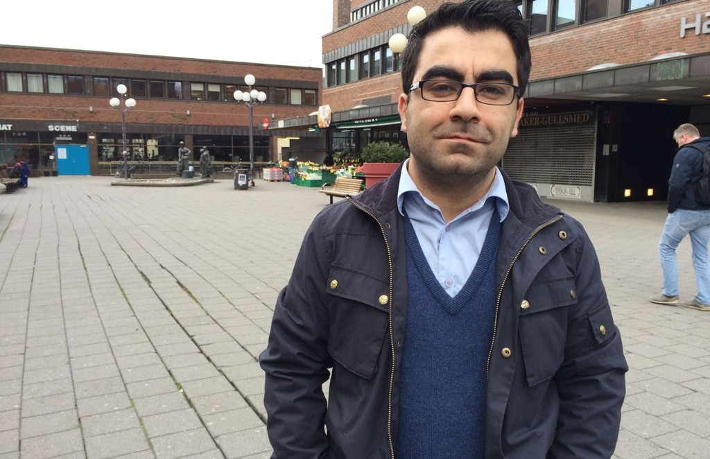 Jawad Azadmehr (H) mener Tøyen trenger nybygg.