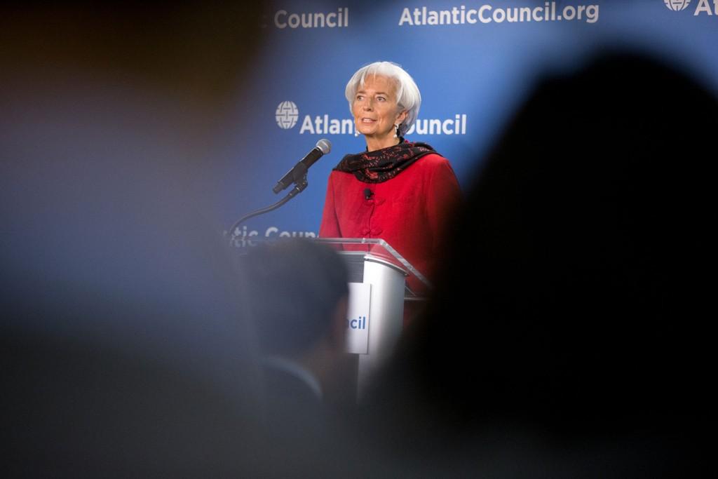 IMF-sjef Christine Lagarde bekrefter at grekerne har betalt avdragene sine som de skal.