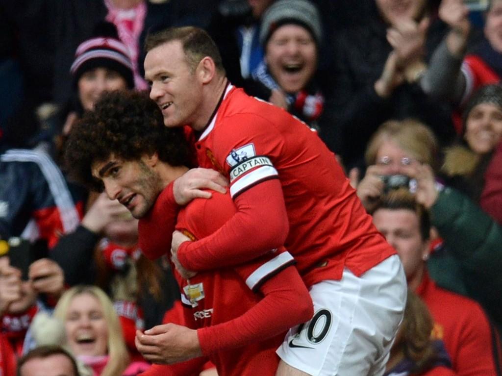 Både Wayne Rooney og Marouane Fellaini er i strålende form for tiden.