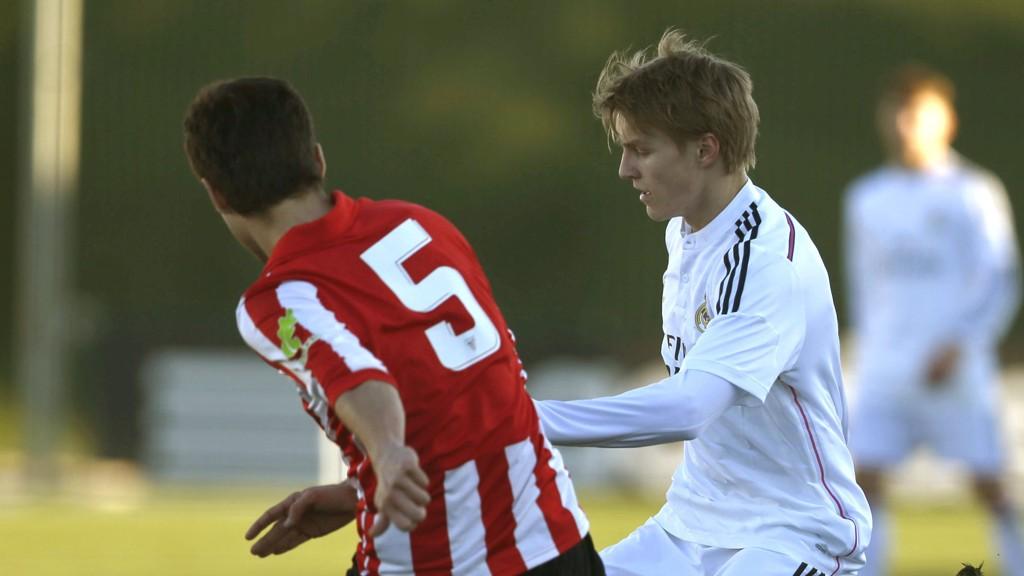 SLITER: Martin Ødegaard ble på nytt byttet ut for Castilla.