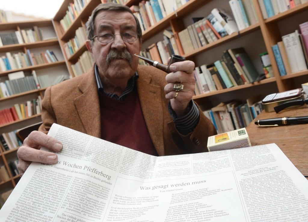 Gunter Grass som 84-åring i 2012.