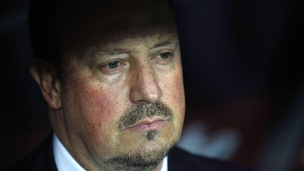 I TRØBBEL: Rafa Benitez har ikke hatt en drømmesesong i Napoli.
