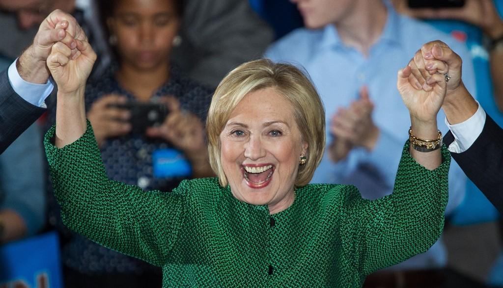 BEIN I NESA: Hillary Clinton stiller som demokrat-kandidat og stiler mot valget i 2016. Hun har vist seg beinhard som politiker, og har ogås blitt karakterisert deretter.