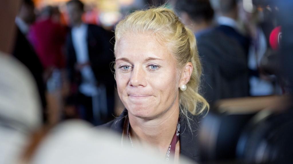 FORTSATT SKADET: Solveig Gulbrandsen er likevel optimist foran sommerens fotball-VM i Canada.