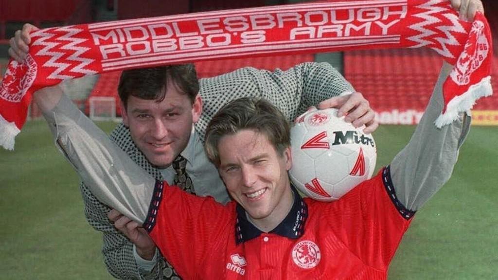 JAKTER OPPRYKK: Jan Åge Fjørtofts gamleklubb, Middlesbrough, kan rykke opp igjen til Premier League. Klubben hadde flere fine sesonger i PL på 1990-tallet under ledelse av Bryan Robson.