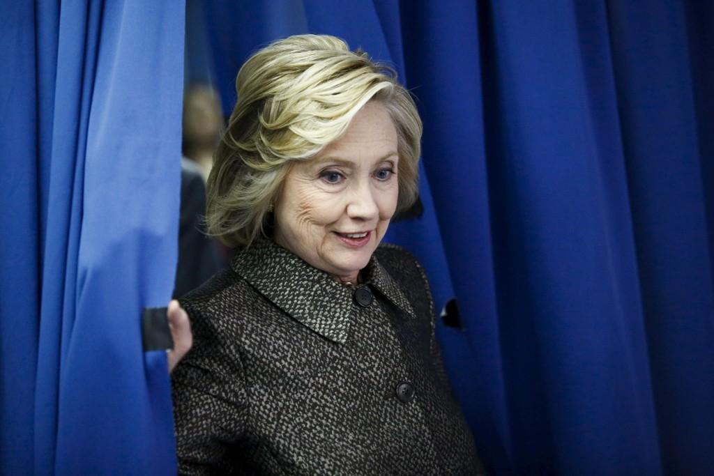 KAN FÅ KONKURRANSE: Hillary Clinton har et stort forsprang på meningsmålingene til republikanske kandidater.