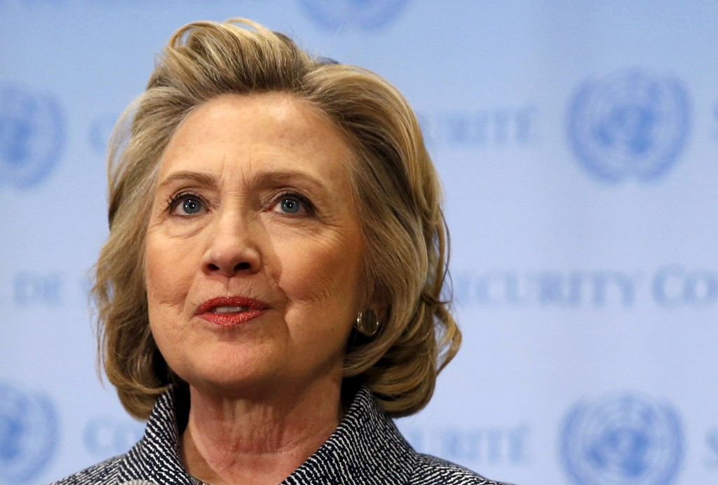 Clinton offentliggjorde søndag at hun ønsker å bli valgt som Demokratenes kandidat til presidentvalget i 2016.