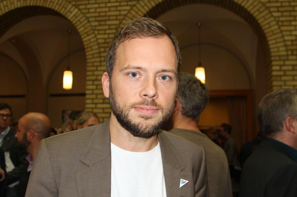 SV-leder Audun Lysbakken vil ha flere kvoteflyktninger fra Syria.