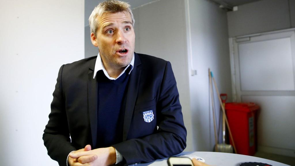 PÅ VINNERSPORET: Tor Ole Skullerud slo tilbake med seier mot Bodø/Glimt sist runde.