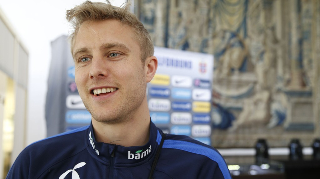 I FORM: Per Ciljan Skjelbred og hans Hertha Berlin er i form for tiden. Her er Norge-kapteinen under en landslagssamling på Marbella.