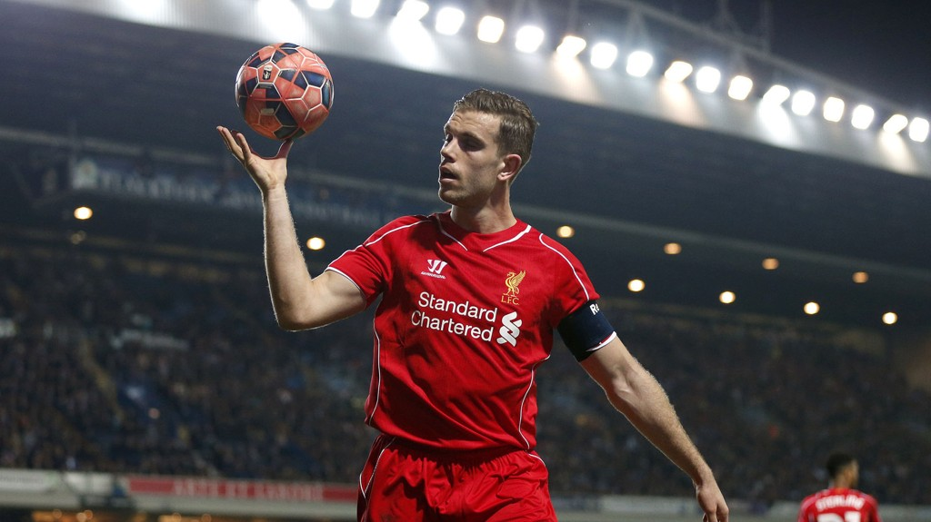 BLIR? Liverpools Jordan Henderson skal være enig med klubben om ny kontrakt.