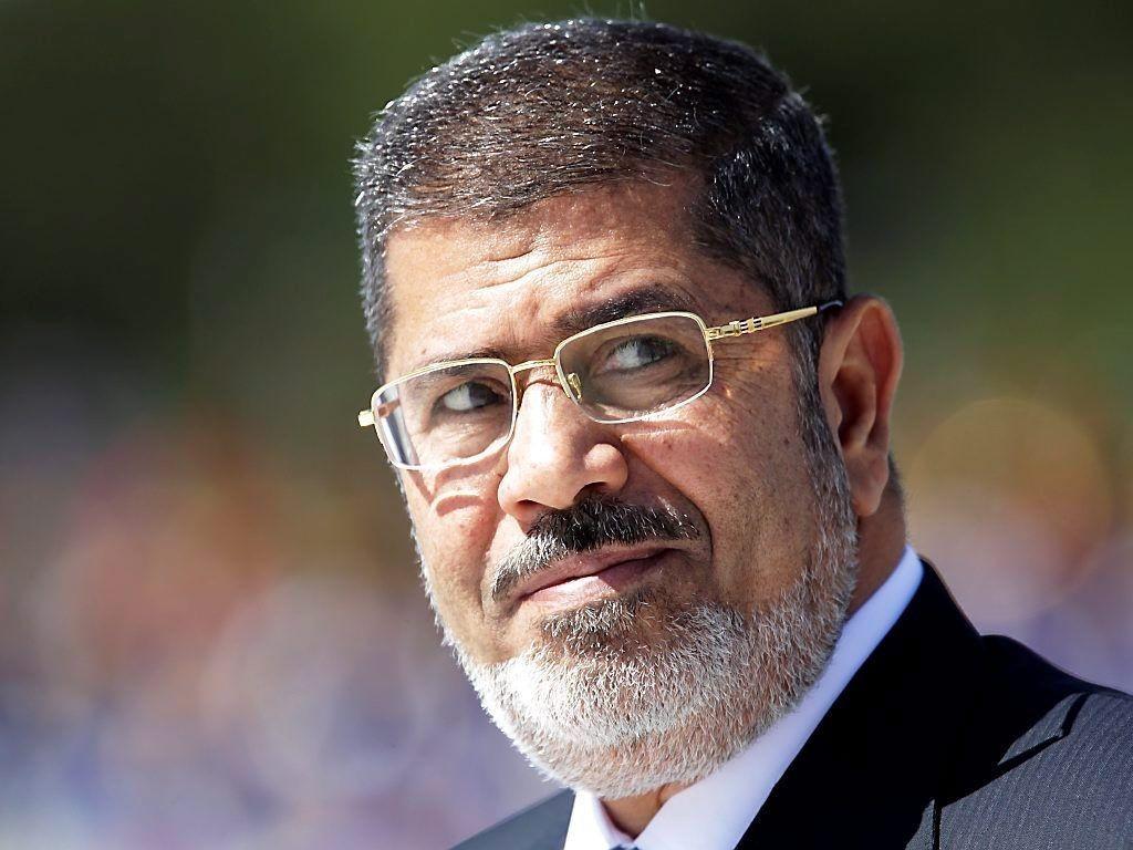 Egypts tidligere president Mohamed Mursi.