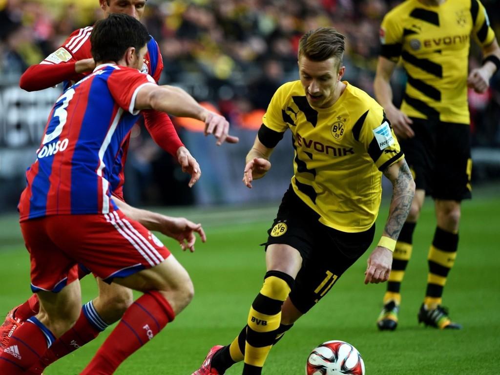 I TRØBBEL: Borussia Dortmunds Marco Reus.