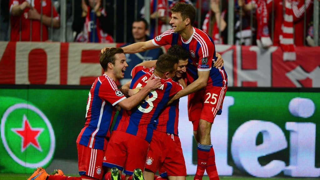 LEKESTUE: Bayern München lekte seg mot Porto.
