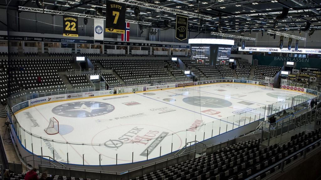 UTVIDES? Stavanger Oilers skal være interessert i å sjekke mulighetene for å utvide DNB Arena.