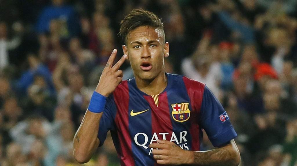 SCORET TO: Jada, Neymar. Det er riktig at du scoret to mål.
