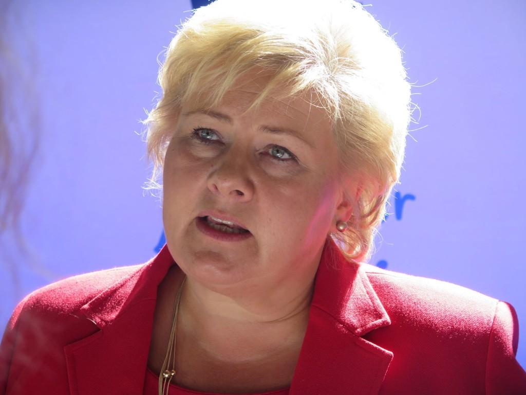 Regjeringen, med Erna Solberg i spissen, franskynder bidrag til Middelhavet.