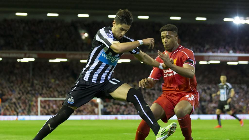 FORLENGER: Jordon Ibe skal være nære en ny femårsavtale med Liverpool.