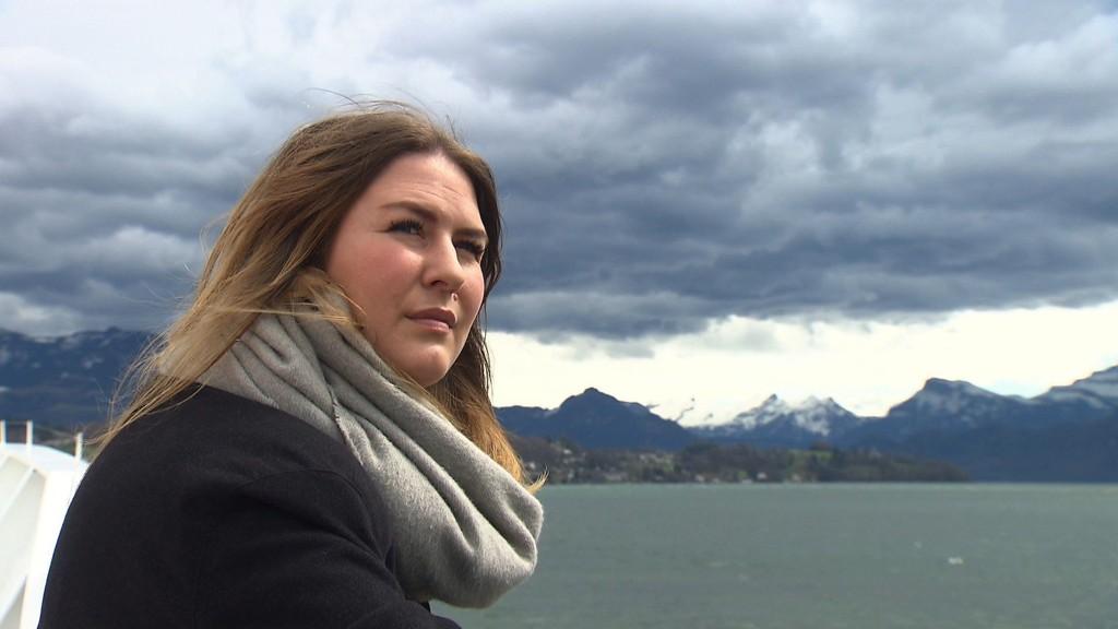 TV-KOMET: Flere hundre tusen følger Annika Bohnenblust på TV i Sveits.