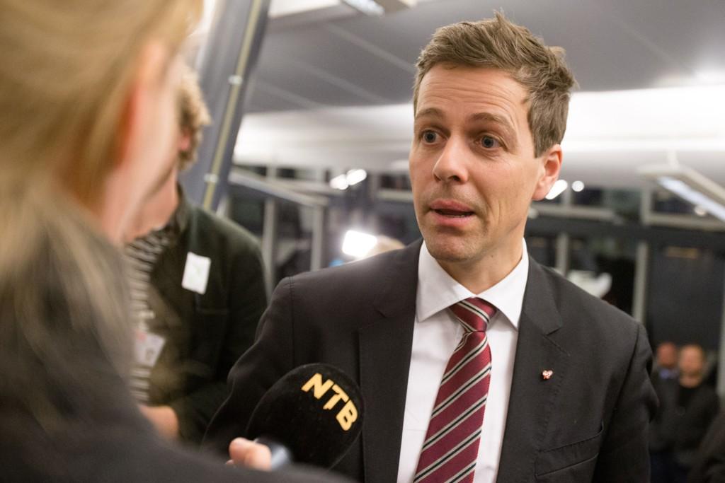 Knut Arild Hareide oppnår sin toppnotering som partileder på aprilmålingen.