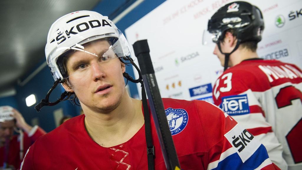Alexander Bonsaksen og hans Tappara reduserte til 2-3 i finalekampen i det finske sluttspillet.