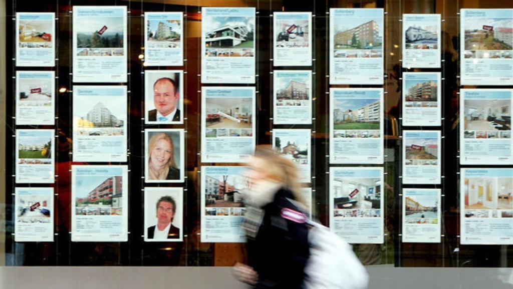 Salget av nye boliger stiger til himmels.