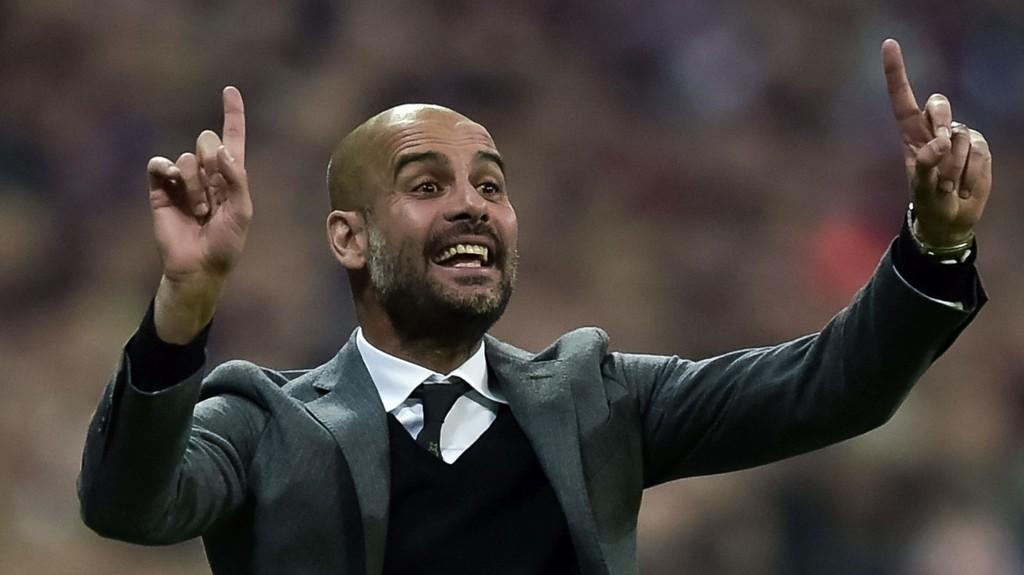 ØNSKET: Pep Guardiola kobles til Manchester City.