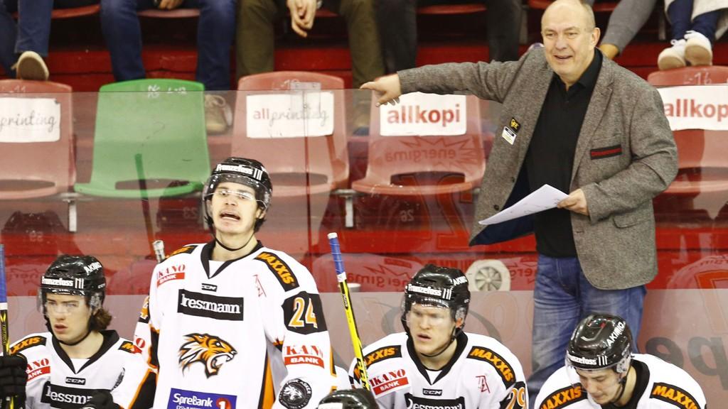 STRAFFET: Frisk Asker og trener Sune Bergman straffes for å bruke en spiller som var ikke-spilleberettighet.