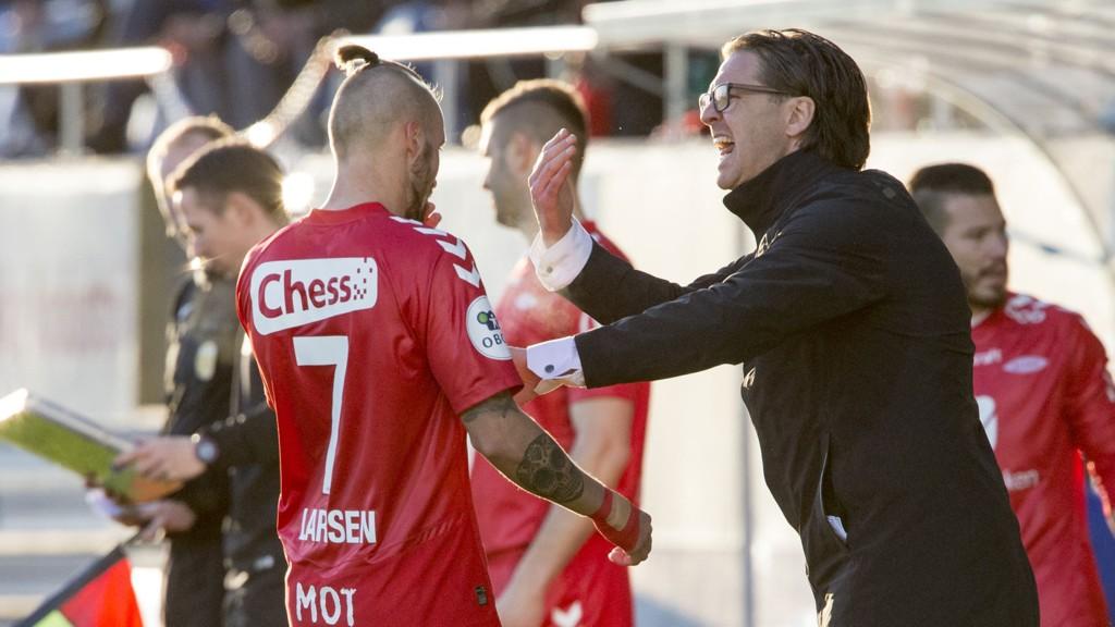 VIDERE I NM: Kristoffer Larsen og Rikard Norling unngikk cupbomben i første runde.