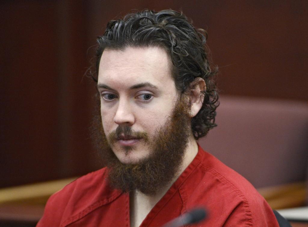 James Holmes risikerer dødsstraff for å ha drept kinogjengere i Aurora utenfor Denver i USA. Bildet er fra 2013.