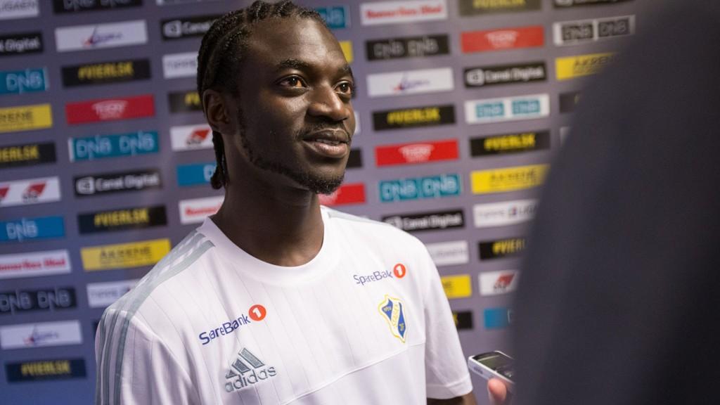 UPOLERT JUVEL? Stabæks Ernest Asante har ekstremfart. Nå jobber klubben for å få ham til å score enda flere mål.