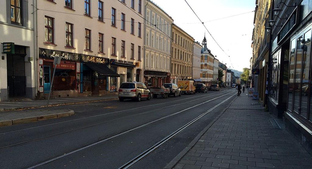 Småbutikkene på Grünerløkka er blant forkjemperne for søndagsåpne butikker. Her holder flere butikker allerede åpent.
