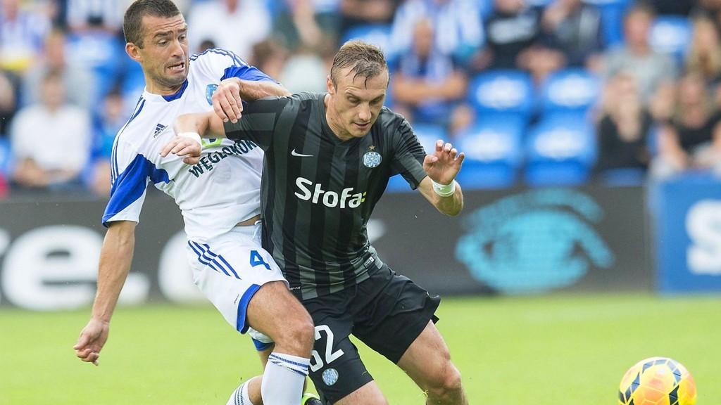 Martin Pusic (her i Esbjerg-drakt) har blomstret etter at han forlot Tippeligaen til fordel for Superligaen. Den østerrikske spissen ble kjøpt av serieleder Midtjylland i vinter og har scoret bra med mål etter overgangen fra Esbjerg.