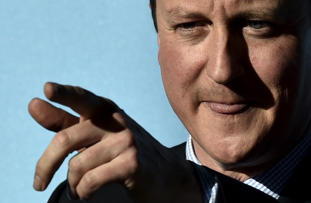 Storbritannias statsminister David Cameron.