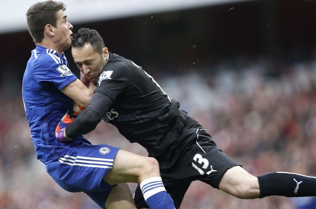 FRISKMELDT: Oscar får med seg allerede kommende kamp mot Leicester.