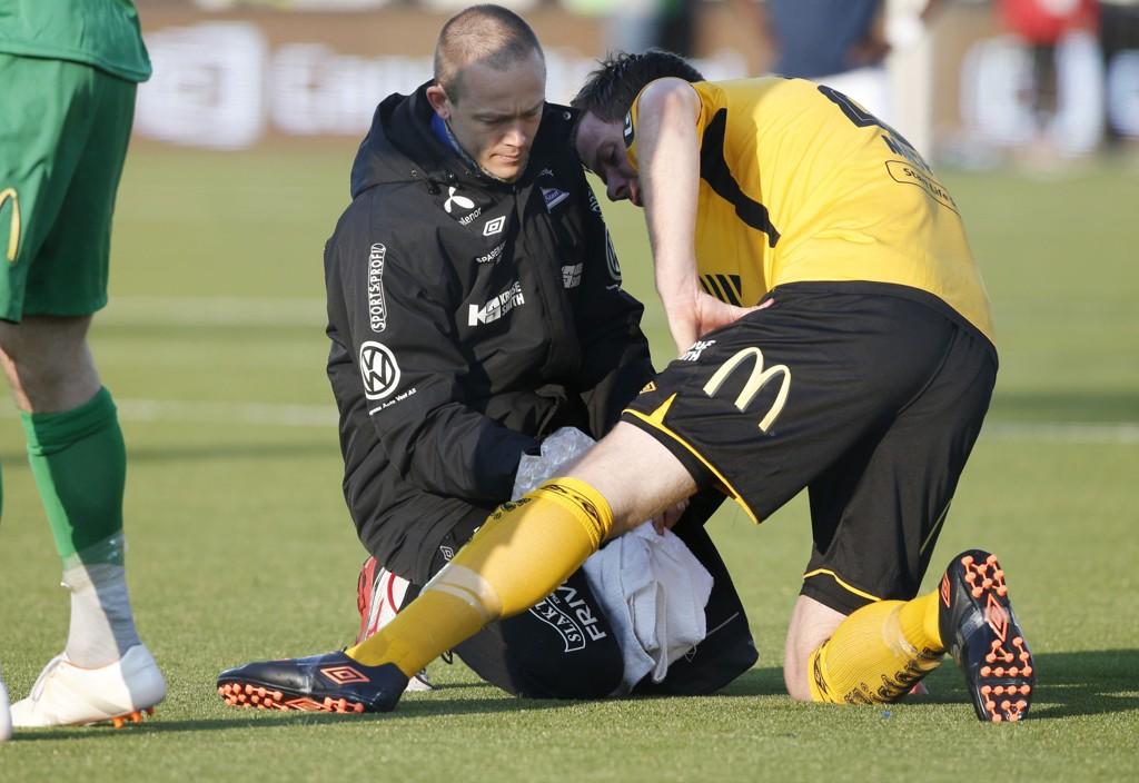SKADEPLAGET: Jesper Mathisen sliter med å bli kvitt skadene.