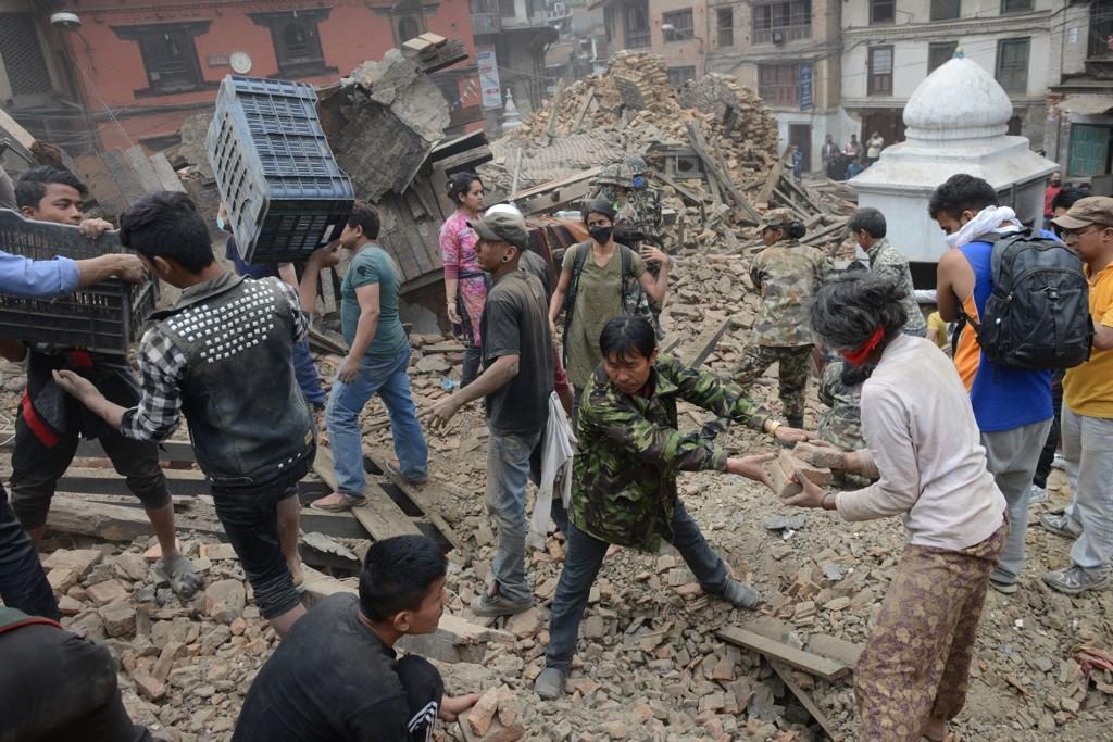 DYRT: Det kommer til å koste mye for å gjenoppbygge det fattige landet etter jordskjlevet. Durbar står på UNESCOS verdensarv-liste.