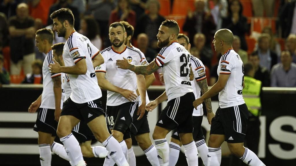 SNART TILBAKE: Valencia er nærmere Mesterligaen etter seier mot Granada mandag kveld.