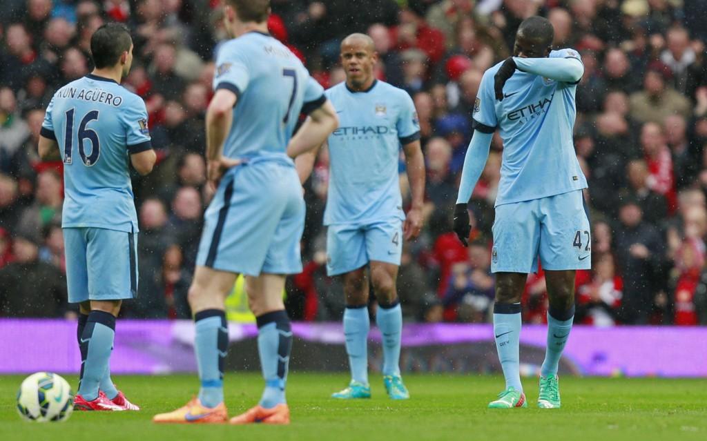 TURBULENT: Manchester Citys sesong har vært alt annet enn stabil.