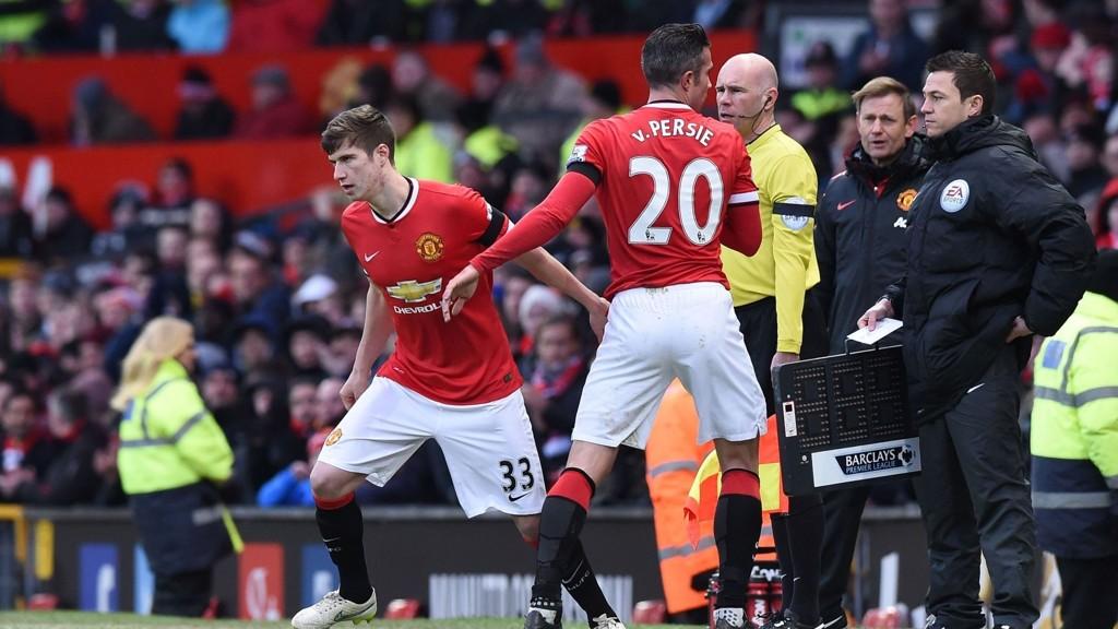 UNGGUTT: Manchester United har denne sesongen blant annet gitt nordiren Paddy McNair sin debut.