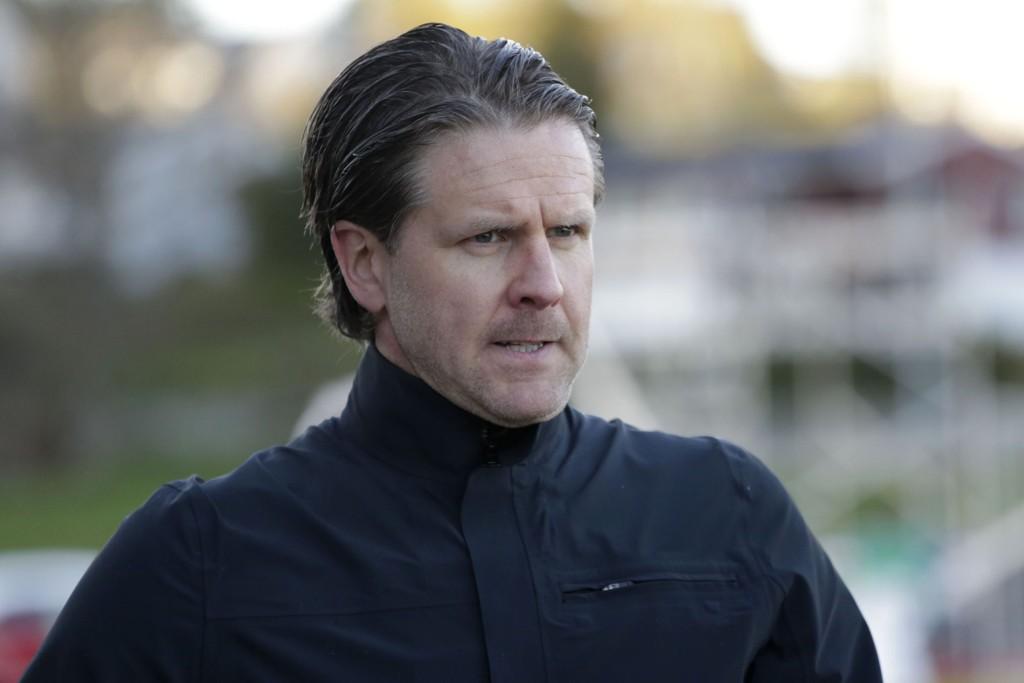 UAVGJORT: Rikard Norling og Brann måtte nøye seg med ett poeng mot Hønefoss tirsdag kveld.