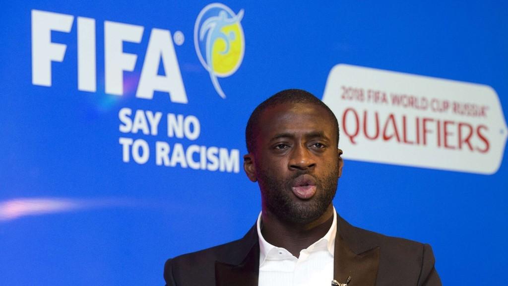 RASISME: Yaya Toure mottok rasistiske kommentarer etter en Twitter-melding.
