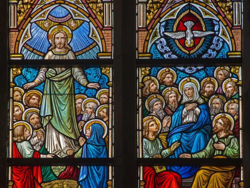 40 dager etter oppstandelsen samlet Jesus disiplene sine og tok avskjed med dem, før han for opp til himmelen. (Illustrasjonsbilde.)