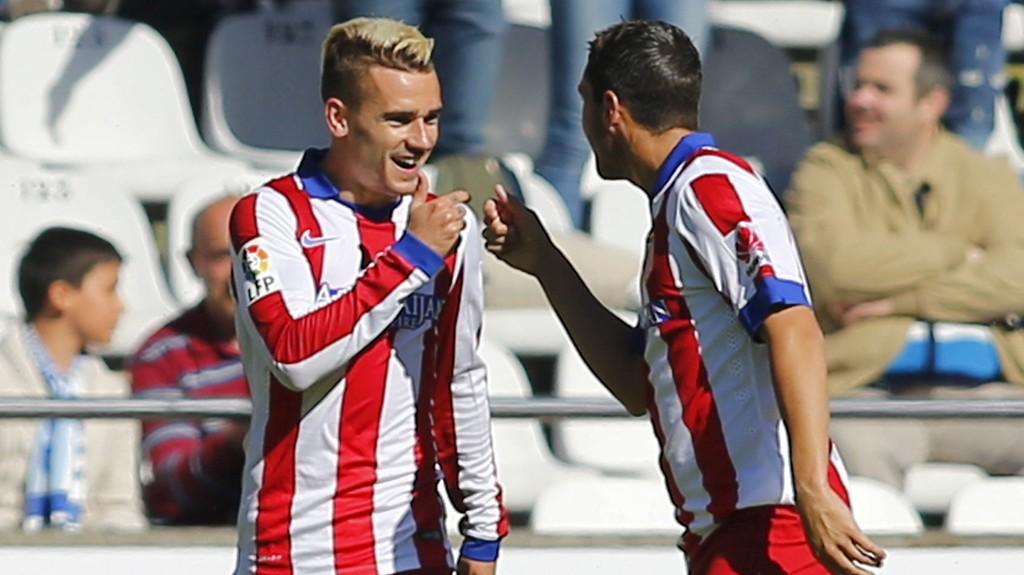 Atletico Madrids Antoine Griezmann og lagkamerat Koke skal være ønsket av Chelsea.