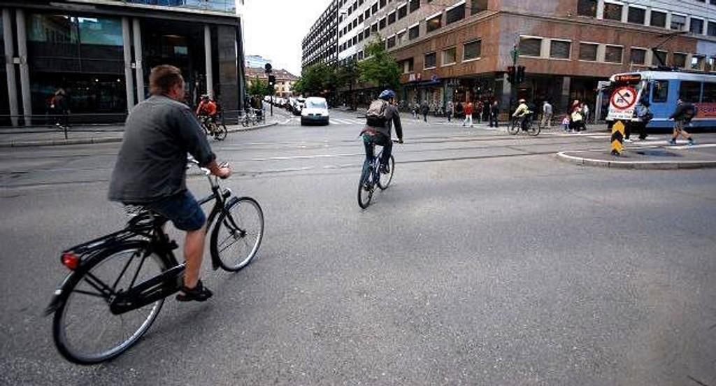 Det satses på sykkel i Oslopakke 3.