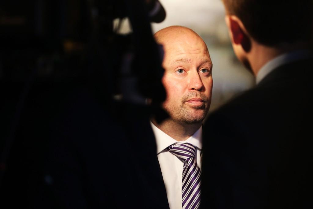PRESSET: Justisminister Anders Anundsen (Frp) må tåle sterk kritikk.