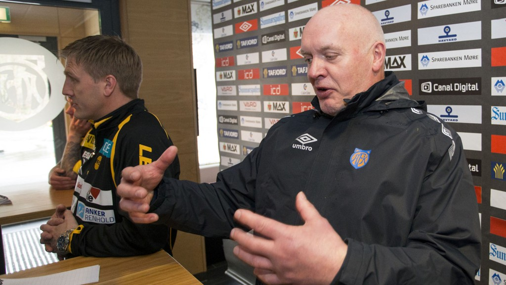 PENGER: Harald Aabrekk og Aalesund er fremdeles ikke kommet til enighet om hvor stor sluttpakke førstnevnte skal motta, etter at han ble sparket fra jobben som trener.