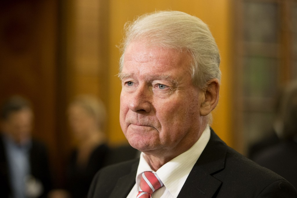 Frps gruppeleder i Oslo bystyre, Carl I. Hagen, har sterke meninger om flyktninger fra Syria.