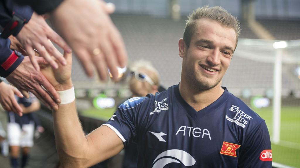 KLUBBSKIFTE? Veton Berisha har takket nei til ny kontrakt med Viking.